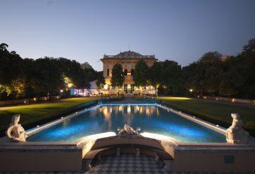 Immagine di Villa Lo Zerbino di sera